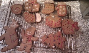 2010 festivities begin with festive gingerbread men