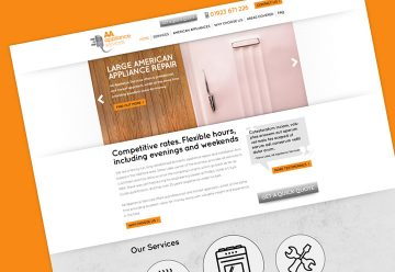 CMS Web Design for Appliance Repair Specialists