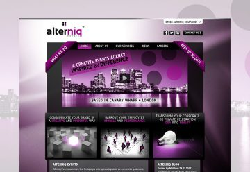 CMS Website Design & Build for Events Agency
