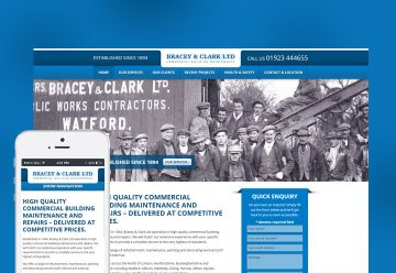 Bespoke Website Design for Building Maintenance Company