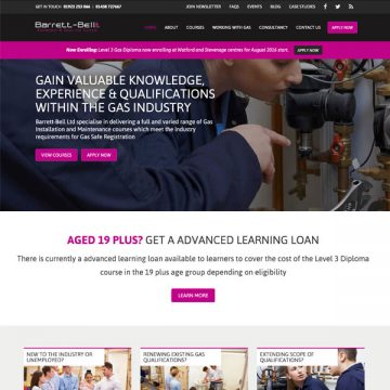 Bespoke Craft CMS Web Design for Training Organisation